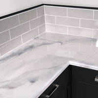 Carrara White Countertop Kit - Medium (2sqm) Thumbnail